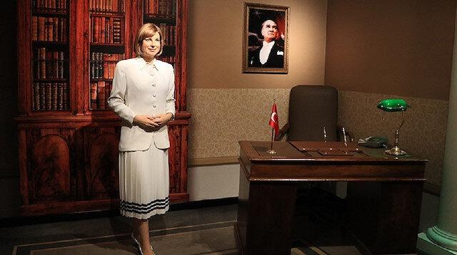 Tansu Çiller'in figürü Madame Tussauds'da sergileniyor