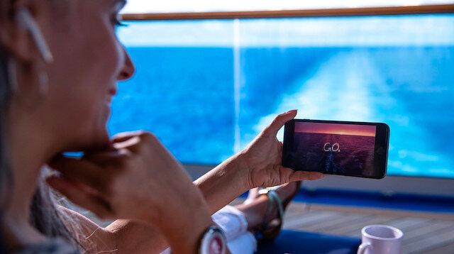 Princess Cruise ile okyanusun ortasında sınırsız sosyal medya keyfi.