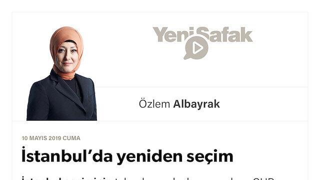 İstanbul'da yeniden seçim
