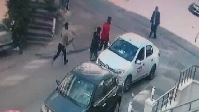 Maltepede sokak ortasında çatışma çıktı
