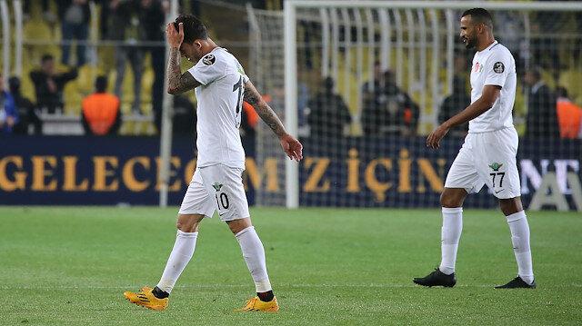 Çarşamba günü Galatasaray'la Türkiye Kupası finali oynayacak Akhisarspor, ligin bitimine 2 hafta kala küme düştü.