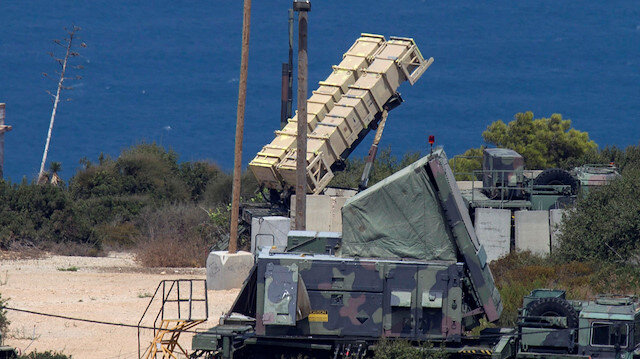 Patriot anti-missile battery is deployed