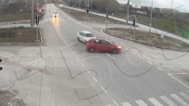 Üniversiteli İremin öldüğü kaza güvenlik kamerasında