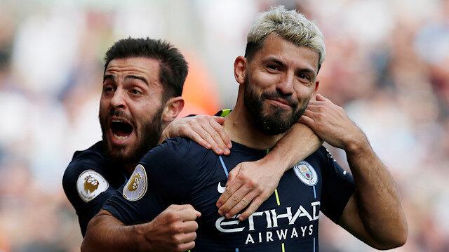 Manchester City, Premier Lig'de üst üste ikinci kez şampiyon oldular.