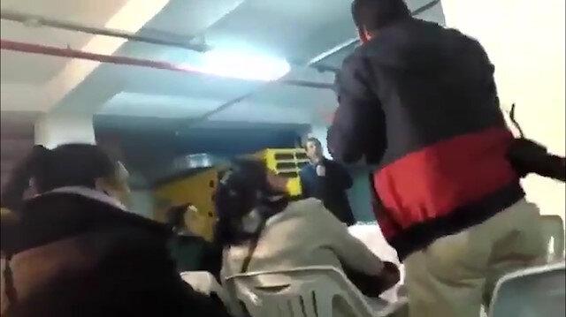 Ekrem İmamoğlu kendisine soru soran gazeteciyi dövdürdü