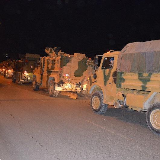 Suriye'ye sınırına komanda takviyesi