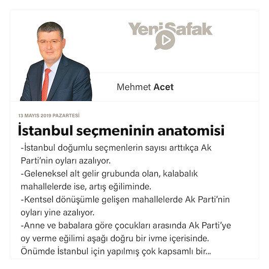 İstanbul seçmeninin anatomisi