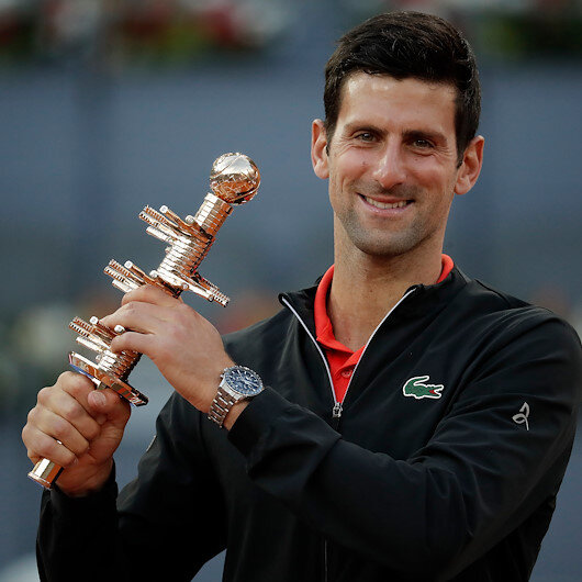 World no. 1 Novak Djokovic wins Madrid Open title