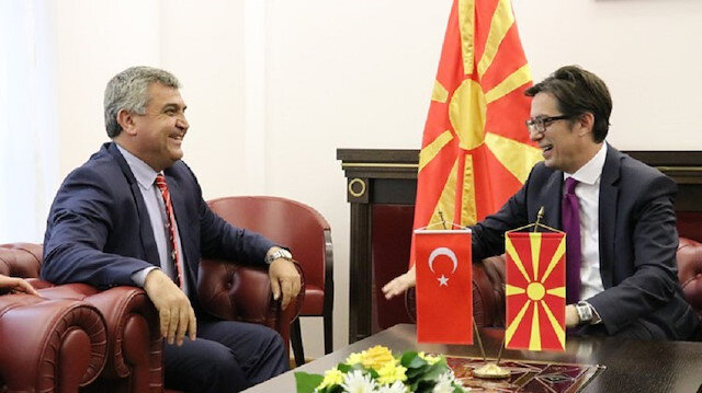 أنقرة تحضر مراسم تنصيب رئيس شمال مقدونيا الجديد عبر نائب وزير خارجيتها