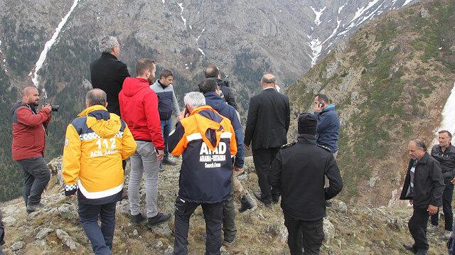 AA Muhabiri Abdülkadir Nişancı'yı arama çalışmaları sürdürülüyor.