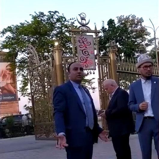 Büyükelçi 'Teröristle aynı masaya oturmam' diyerek iftarı terk etti