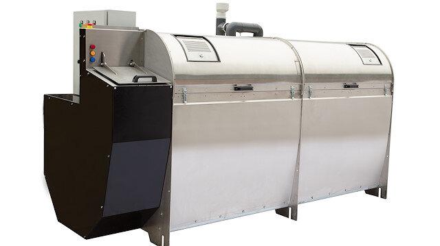 Sanayi tipi kompost makinesi