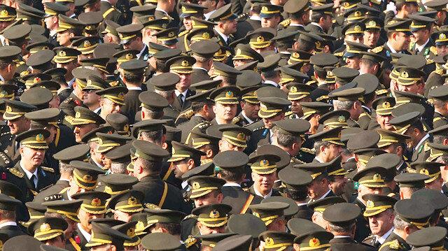 TSK personeli askerler. Fotoğraf: Arşiv.
