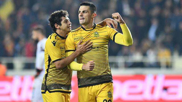 Aleksic Yeni Malatyaspor formasıyla 22 gole direkt katkı yaptı. (14 gol, 8 asist)