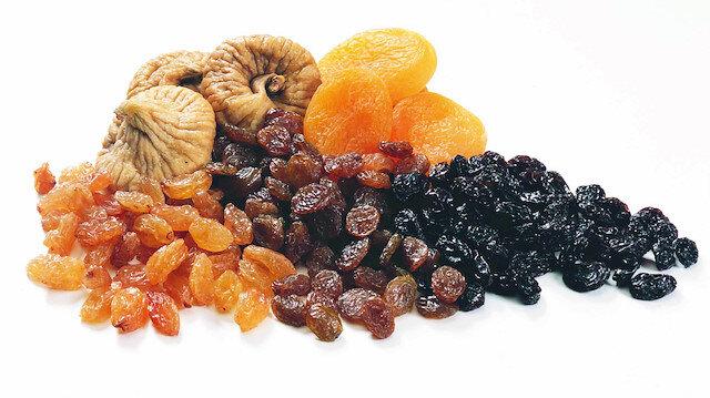 Kuru üzümde Çin bereketi