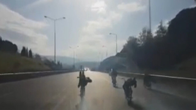 Bursada ölüm yarışı kamerada
