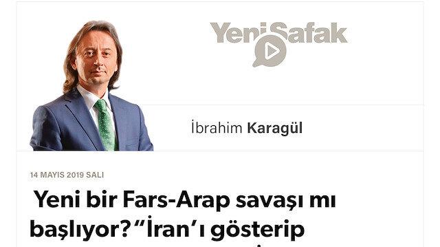 """* Yeni bir Fars-Arap savaşı mı başlıyor? * """"İran'ı gösterip Türkiye'yi vur""""mak! * İki Veliaht'ın parası Türkiye'ye akarken bu sefer """"darbe"""" Güney'den mi geliyor? * Peki, kim bu """"içeriden operasyoncu""""lar?"""