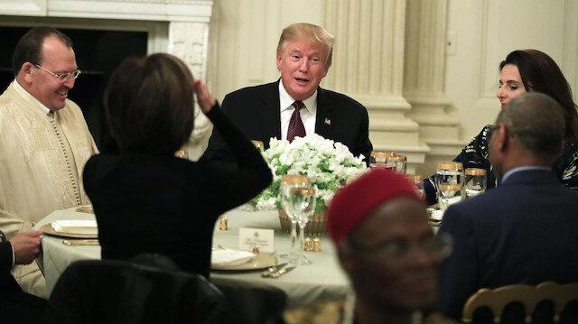 Trump'ın Beyaz Saray'daki iftar yemeği
