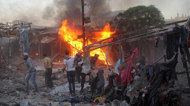 Saldırıda 5 kişi hayatını kaybetti.