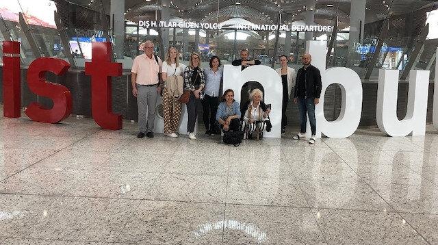Yabancı tur operatörü ve seyahat acentelerinin üst düzey yöneticileri İstanbul Havalimanı'na büyük ilgi gösterdi.