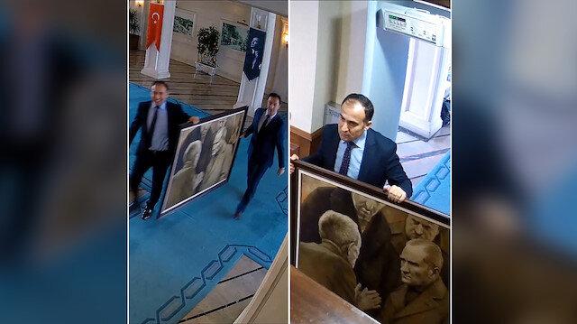 CHP İstanbul adayının Atatürk tablosu yalanı ortaya çıktı