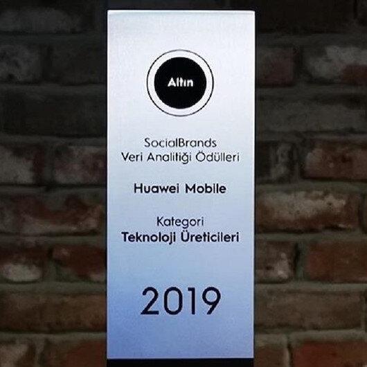 Huawei bir ödüle daha layık görüldü