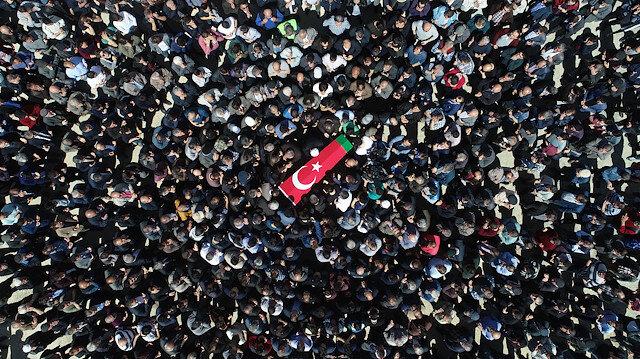 Şehit cenazesi. Fotoğraf: Arşiv.