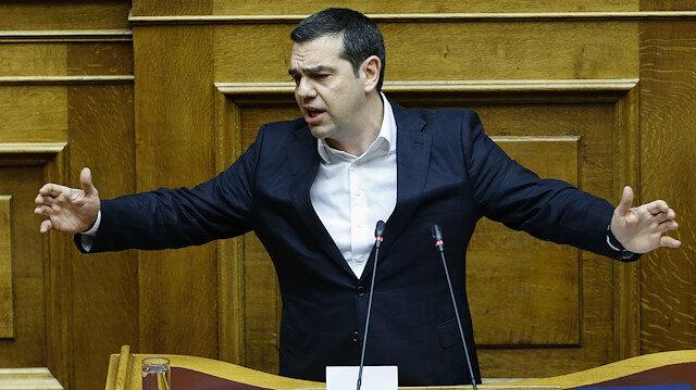 Yunan Başbakan Aleksis Çipras Türkiye'yi tehdit etti.