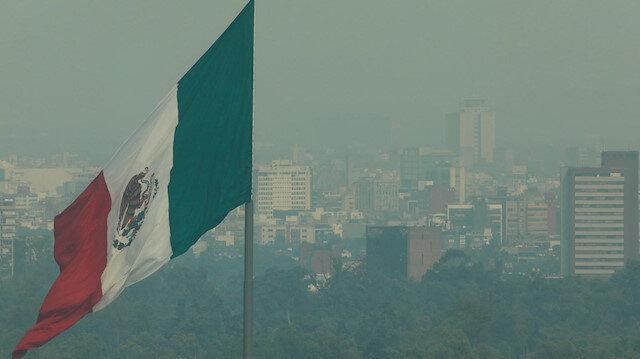 Meksiko şehri kırsalı ve banliyölerinde, hafta sonu boyunca 45 orman ve çalı yangını meydana geldiği bildirilmişti.