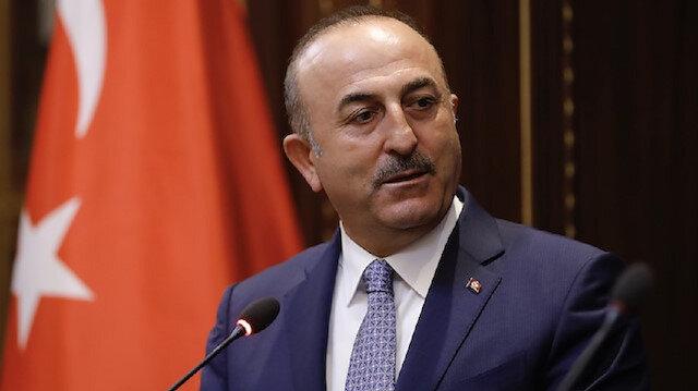 Turkey's Foreign Minister Mevlüt Çavuşoğlu
