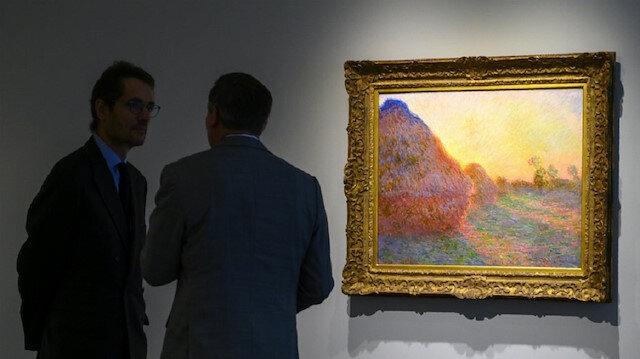 """بيع لوحة """"مونيه"""" بهذا المبلغ الضخم في مزاد علني بنيويورك"""