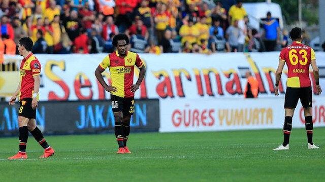 Göztepe,Süper Lig'de 15. sırada yer alıyor.