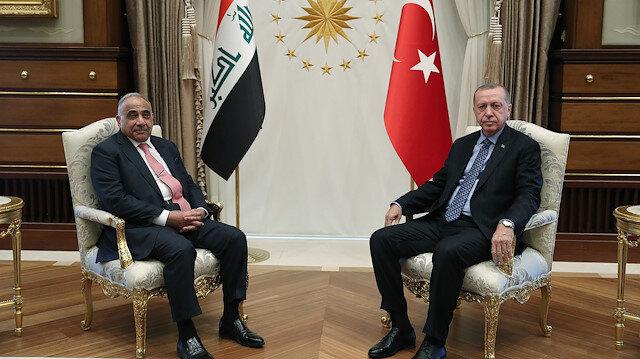 Cumhurbaşkanı Erdoğan Abdulmehdiyi kabul etti