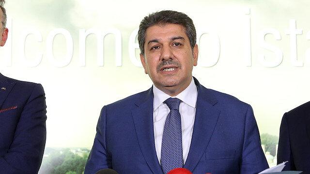 Esenler Belediye Başkanı ve İstanbul Büyükşehir Meclisi AK Parti Grup Başkanvekili Tevfik Göksu,