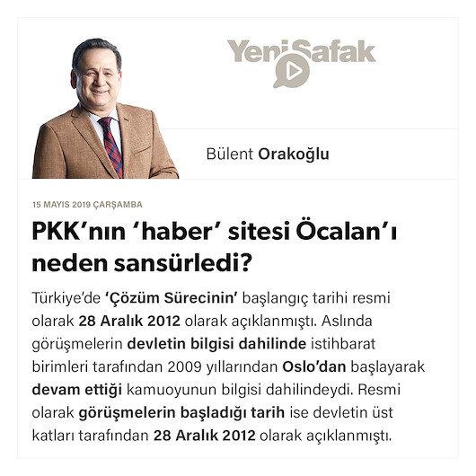PKK'nın 'haber' sitesi Öcalan'ı neden sansürledi?