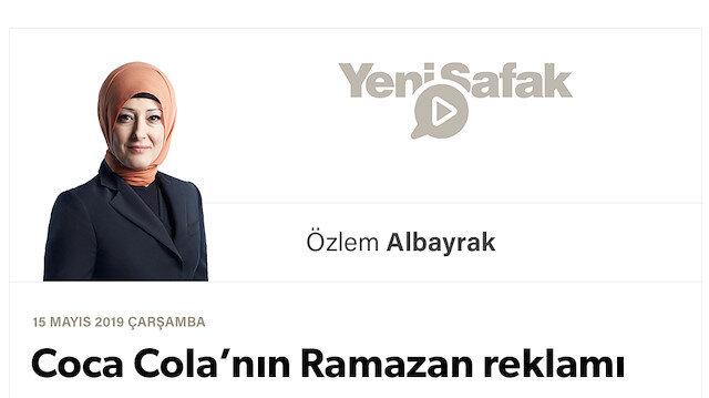 Coca Cola'nın Ramazan reklamı