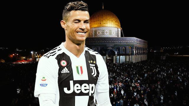 Cristiano Ronaldo'dan Filistin'e Ramazan bağışı