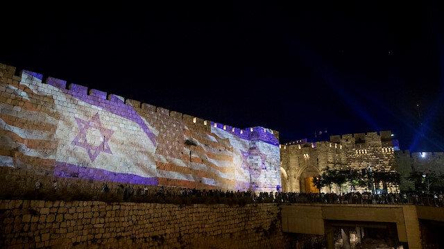 İsrail'den bayrak provokasyonu