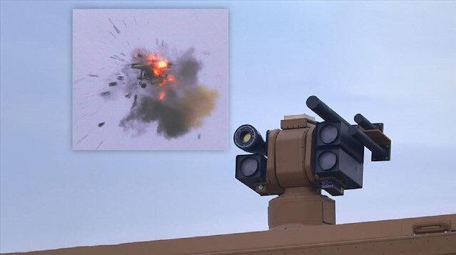 """""""ألقا"""".. سلاح تركي جديد ومتطور قادر على إسقاط طائرات الدرون"""