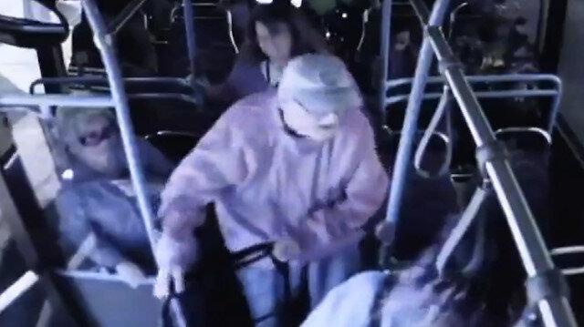 Otobüsten ittiği yaşlı adam hayatını kaybetti