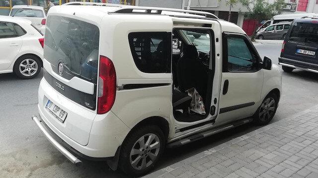 Polis, aracın kapılarını çalan hırsızları yakalamak için çalışma başlattı.