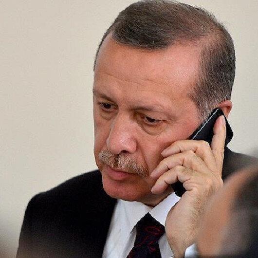 Cumhurbaşkanı Erdoğan Ordu Valisi Yavuz'dan heyelan hakkında bildi aldı