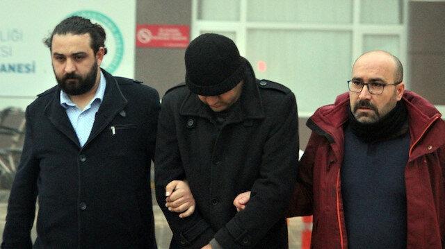 Yakalanan örgüt mensubu sağlık kontrolüne götürüldü. Fotoğraf: Arşiv.