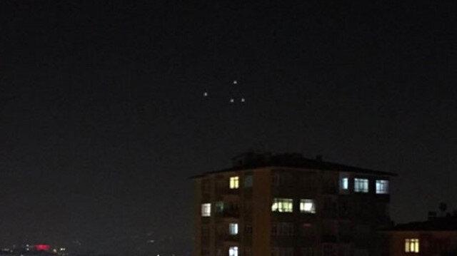 UFO gördüğünü zanneti: Vallahi gördüm bu sefer