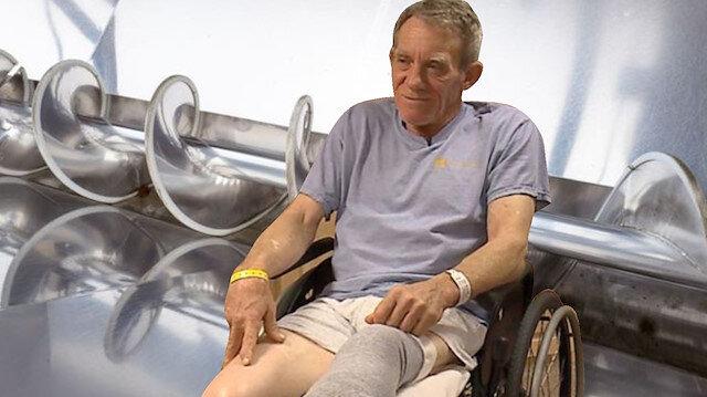 Kaser, bacağı tamamen iyileştikten sonra protez bir bacak alacak.