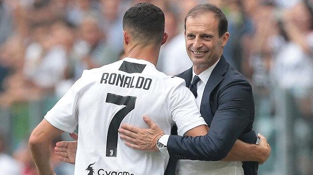 Ronaldo ile Allegri