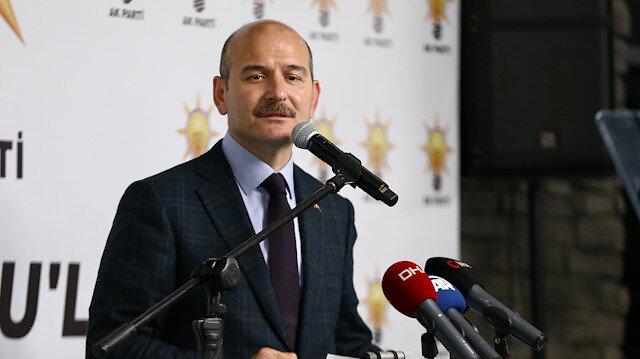 İçişleri Bakanı Süleyman Soylu.