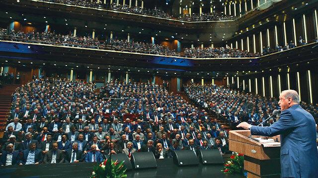 Cumhurbaşkanı Erdoğan, 49 defa muhtarlar ile bir araya geldi.