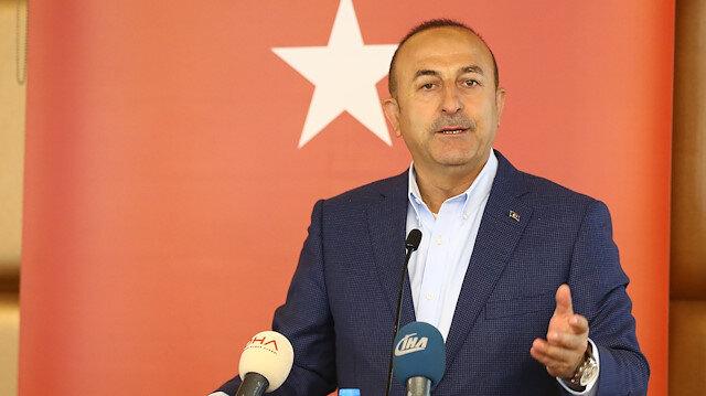 Çavuşoğlu'ndan BM ve AB'ye Doğu Akdeniz bilgilendirmesi