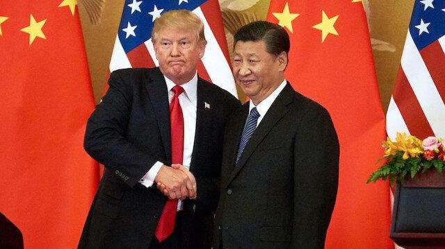 ABD Başkanı Donald Trump - Çin Devlet Başkanı Şi Cinping.